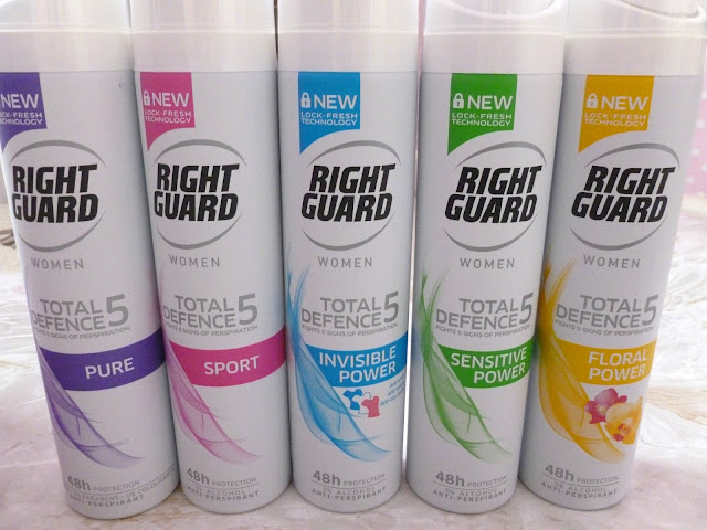 Right Guard Total Defence 5 Women - Review