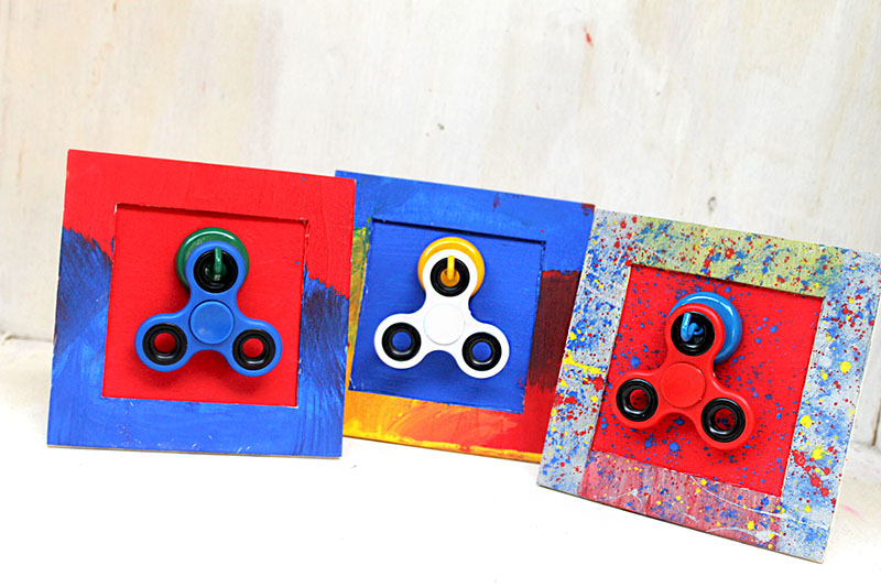 This Spinners Frame Display Is Definitely An Easy Project To Make And A  Great Summer Craft! Not Only Do They Make A Great Way To Store The Spinners,  ...