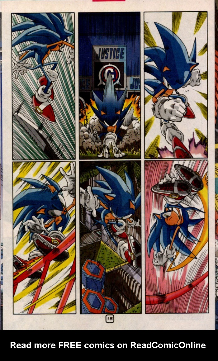 Read online Sonic The Hedgehog comic -  Issue #98 - 17