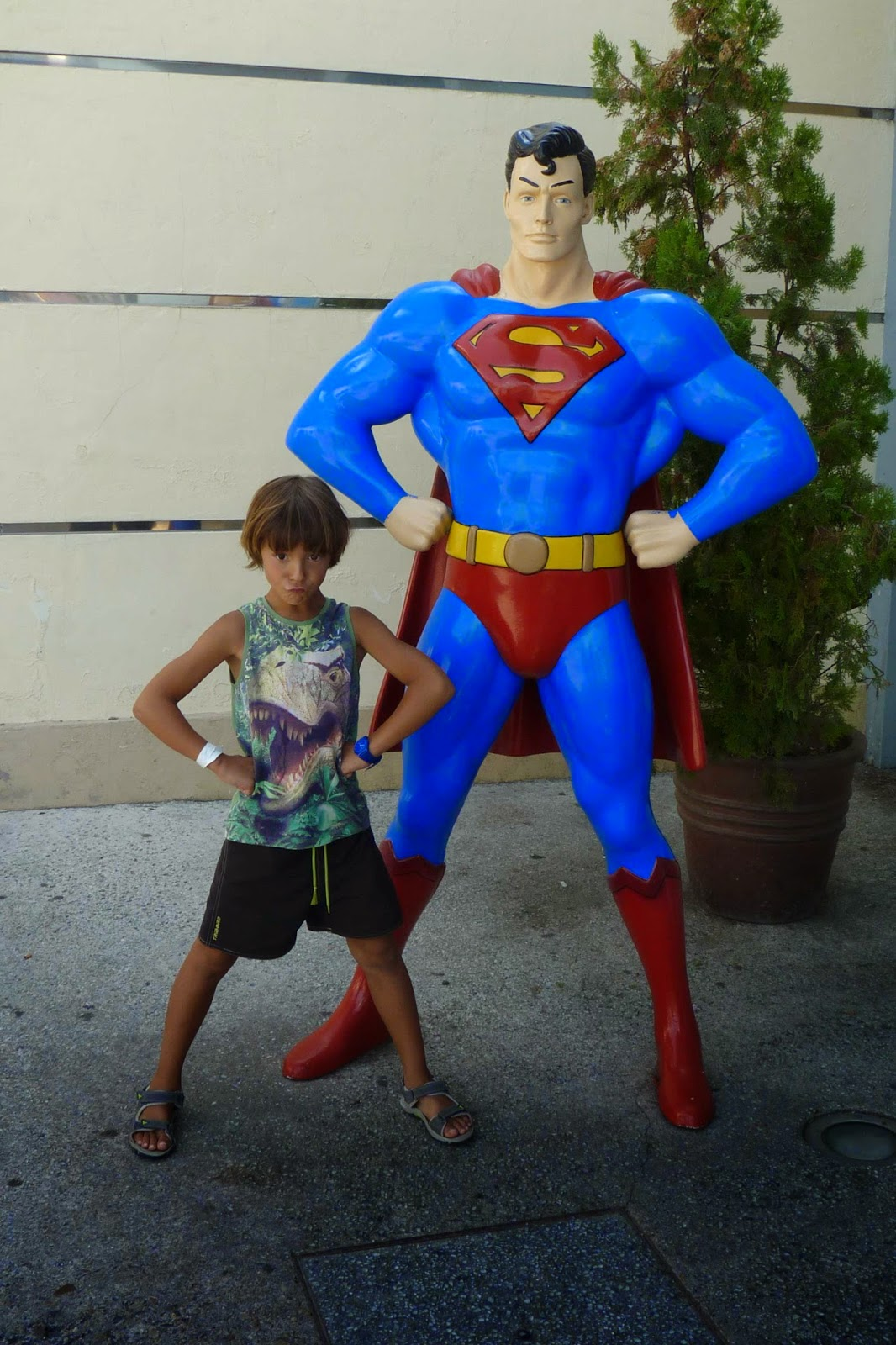 Superman la Atracción de Acero.