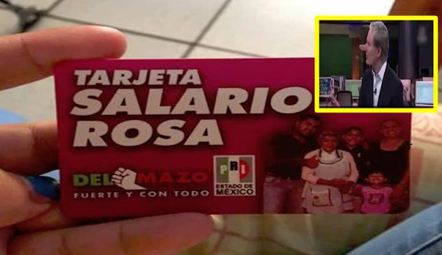 Para que se active tarjeta rosa, deben votar por el PRI; engañan a mujeres mexiquenses.