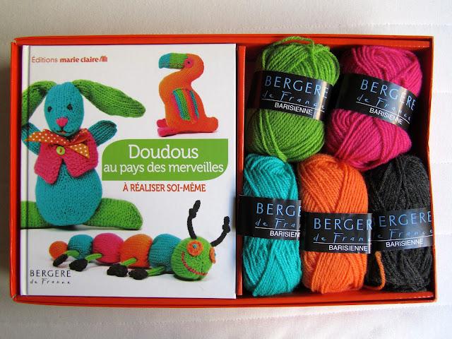 Kit de tricot de Bergere de France