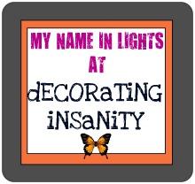 Decorating Insanity
