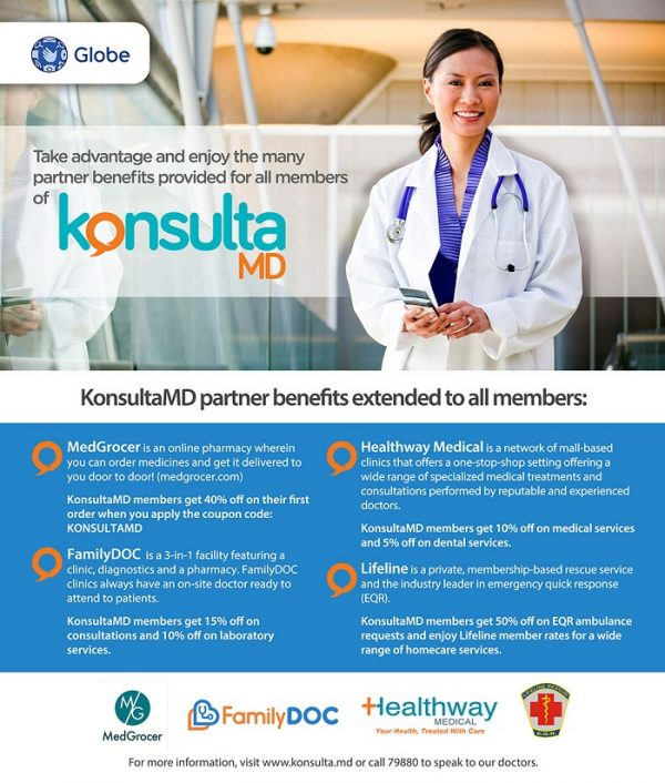 Manila Life: KonsultaMD Collaborates With New Partners To Provide
