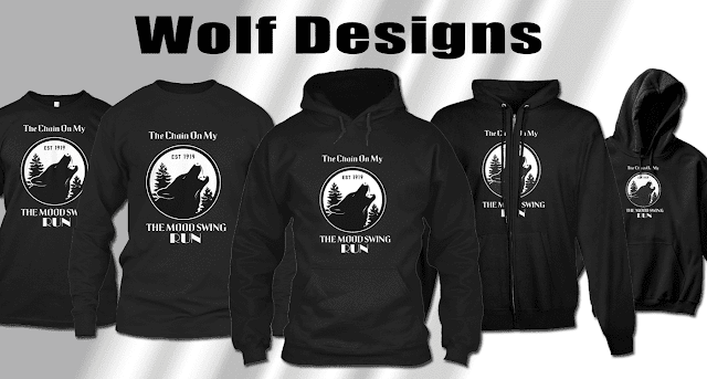 Best designs of black wolf t shirts