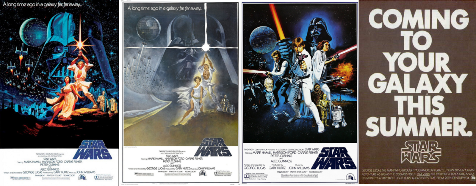 star wars movie posters as iconic as the movies in a