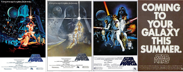 Original Star Wars theatrical posters