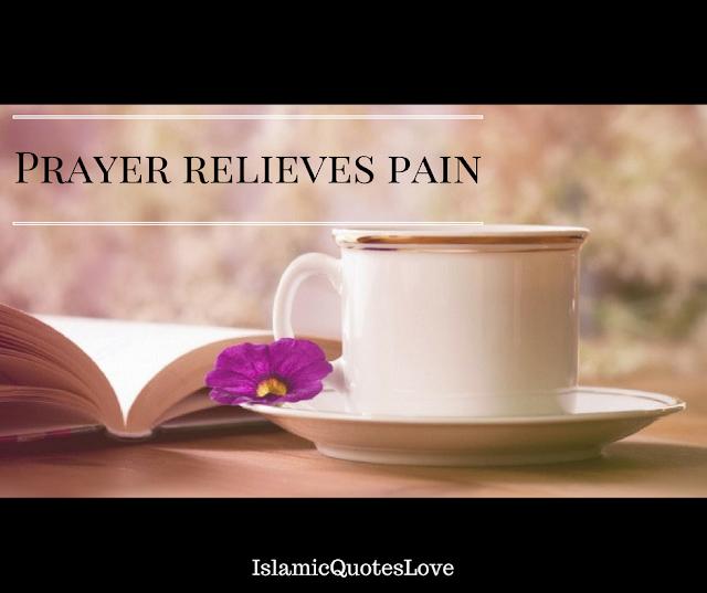 Prayer relieves pain