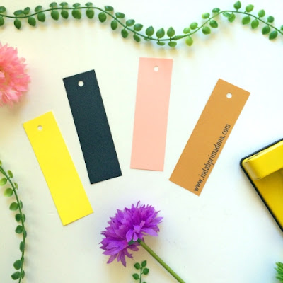 tutorial bookmark, diy bookmark, buat bookmark sendiri