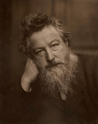 Photograph of William Morris by Frederick Hollyer, 1884, platinum print. Museum no. 7715-1938, © Victoria and Albert Museum, London