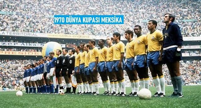 Dünya Kupası'nın Geçmişten Günümüze Kadar Olan Tarihçesi 1970 Meksika - Kurgu Gücü