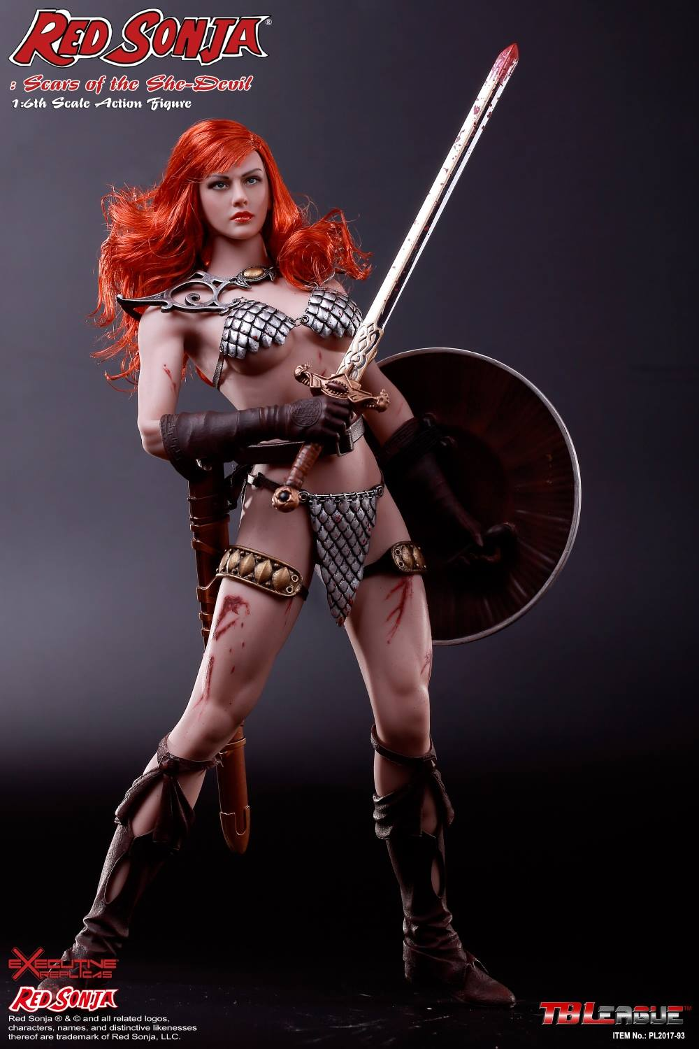 PHICEN - Red Sonja: Scars of the She-Devil  6