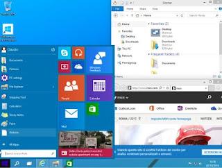 come va Windows 10