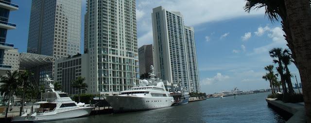 Desembocadura del Miami River