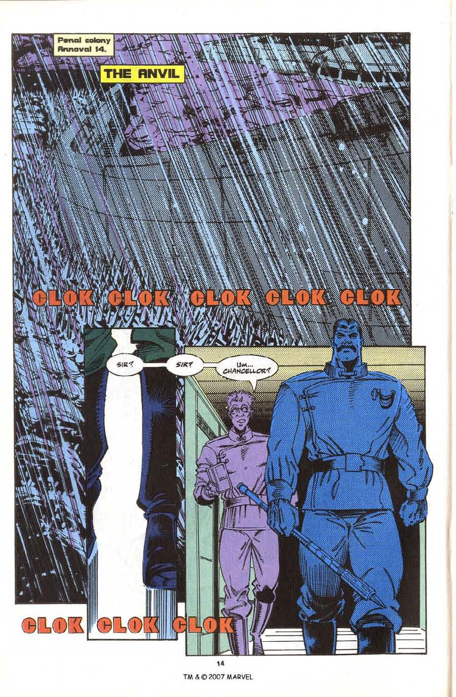 Read online Silver Surfer (1987) comic -  Issue #76 - 16