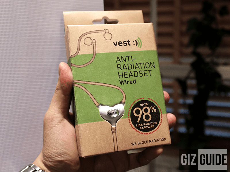 Anti-Radiation Wired Radiation Earphones