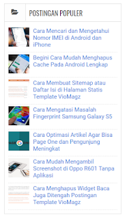 Widget yang Wajib di Pasang Saat Mendaftar Google Adsense