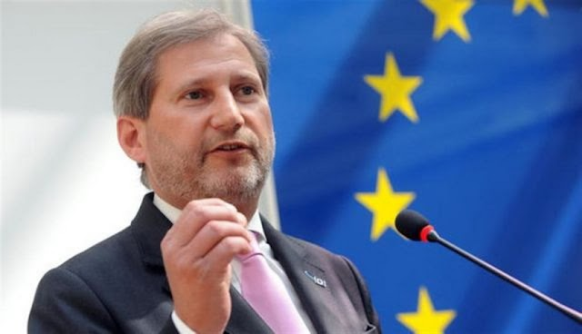 EU's Hahn wishes new name for Macedonia in two weeks