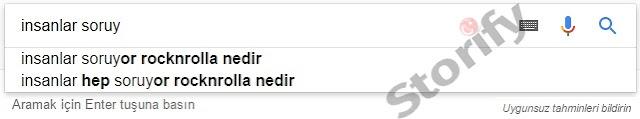 google arama sorgusu