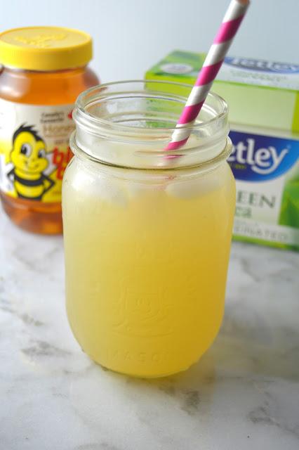 Honey Green Tea Lemonade