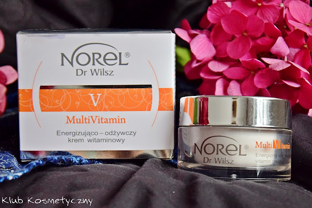 Norel Dr Wilsz, MultiVitamin, Energizująco-odżywczy krem witaminowy