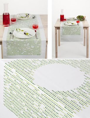 Creative Tablecloths and Cool Tablecloth Designs (15) 3