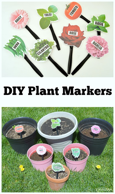 DIY plant markers for life long