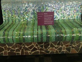 SCAD Tiled Bench Exhibit