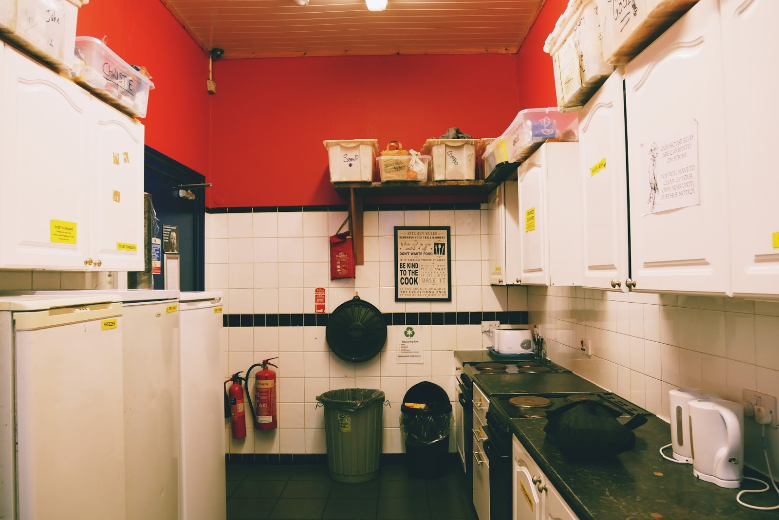 Dapur Edinburgh Backpacker Hostel