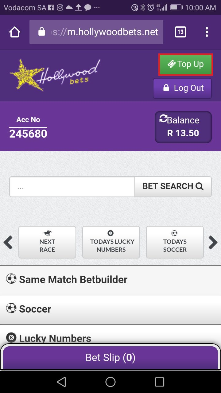 Hollywoodbets Sports Blog Top Up Vouchers Big  Voucher Map Simply Enter Your Code In The Field Before Clicking Submit