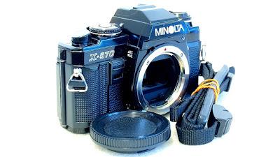 Minolta X-570 (Black) Body #266