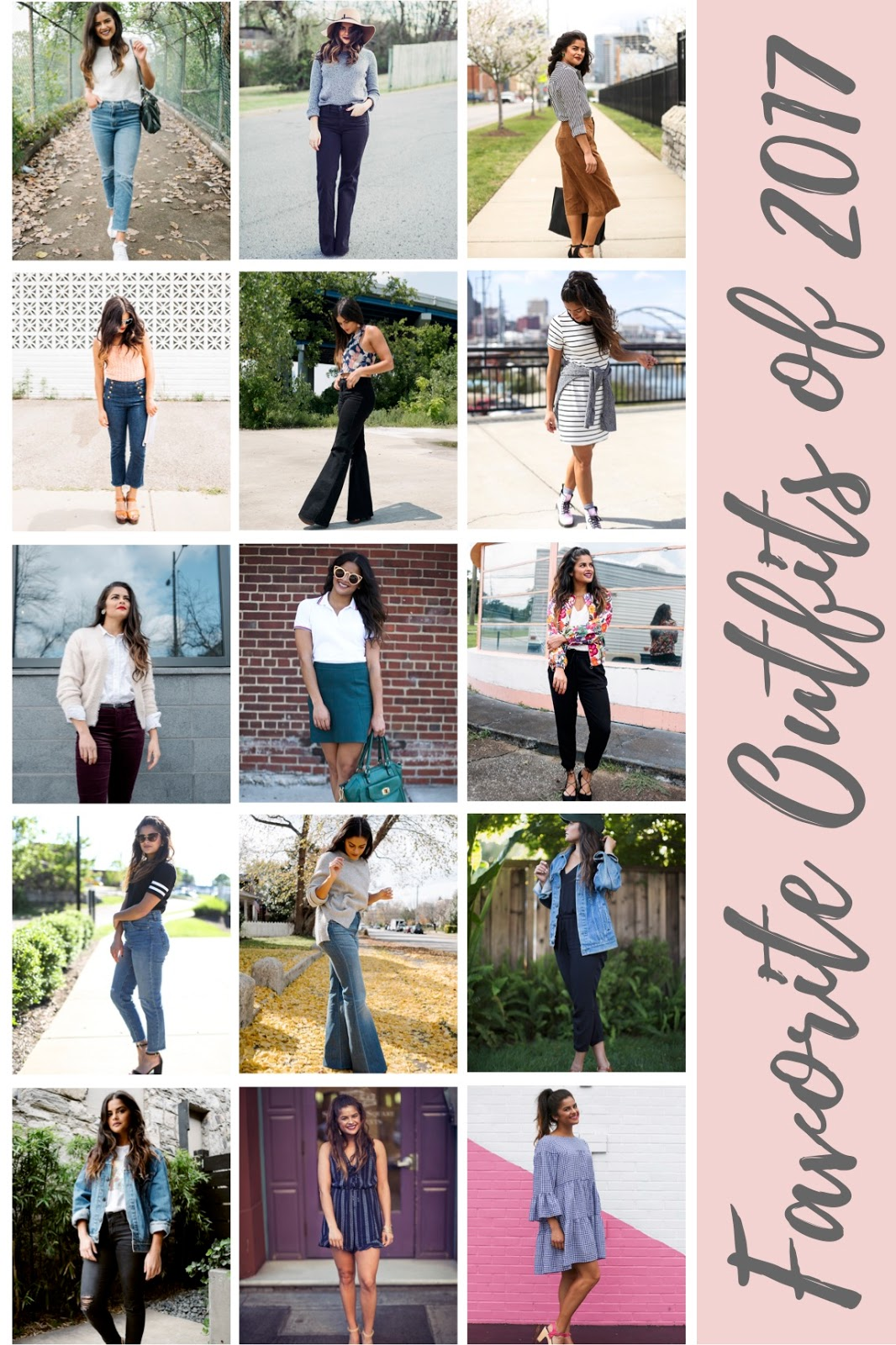 Outfits 2017 My Favorite Outfits Of 2017 Priya The Blog Life Style In