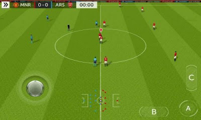 Tampilan Game FTS Mod FIFA 18