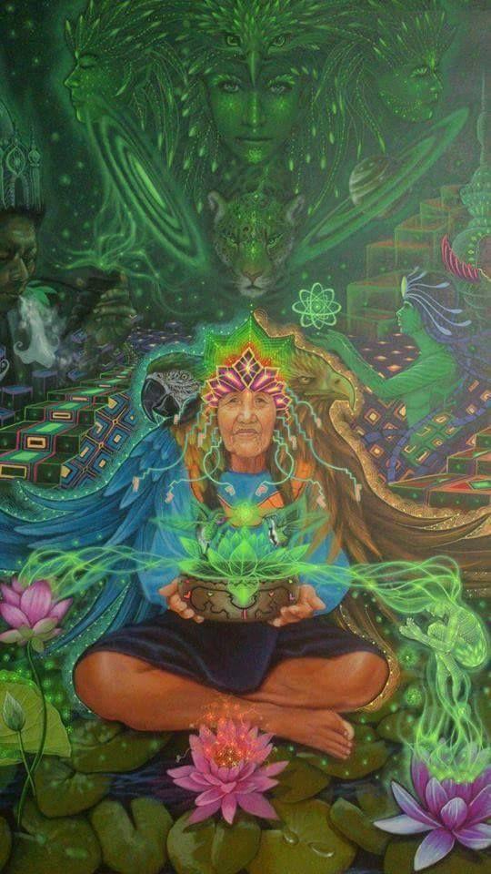 Nella mitologia inca, Mama Coca o Cocomama era la divinità della salute e della gioia