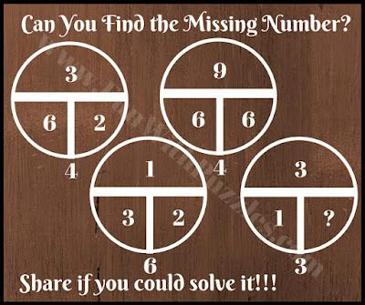 Math circle brain teaser
