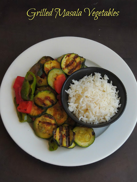 Vegan Grilled Masala Vegetables