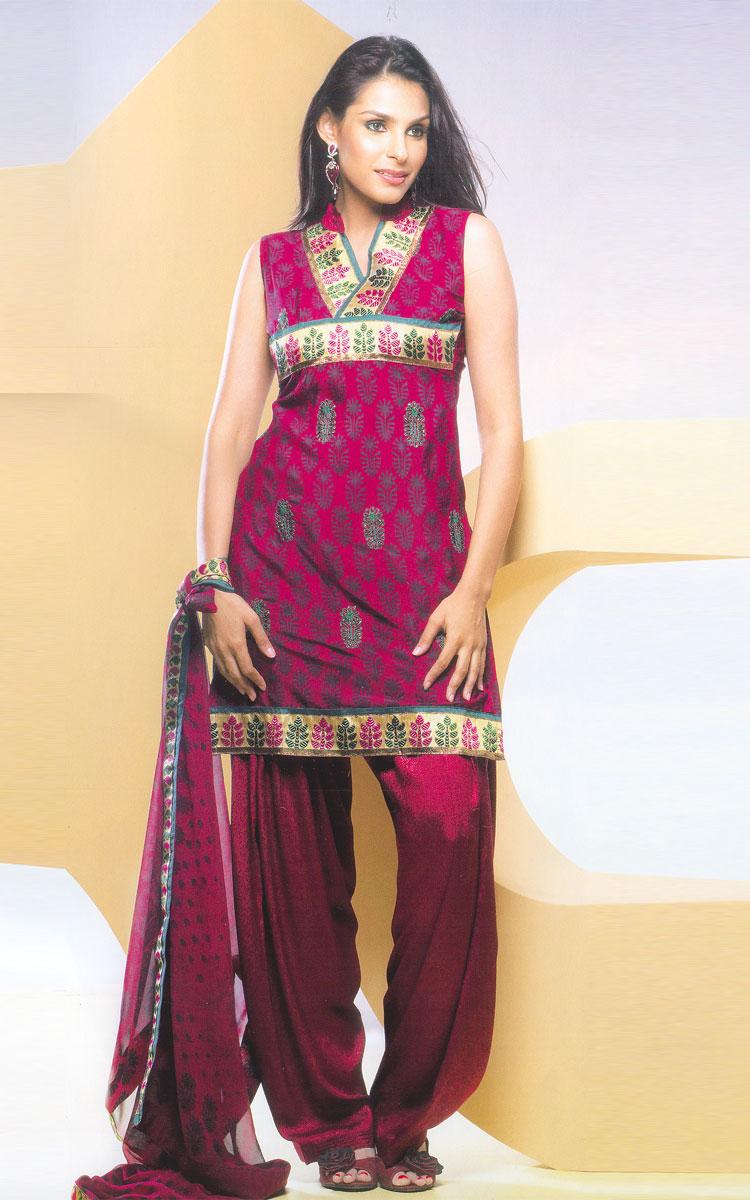 Dress Designer: Punjabi Salwar Kameez