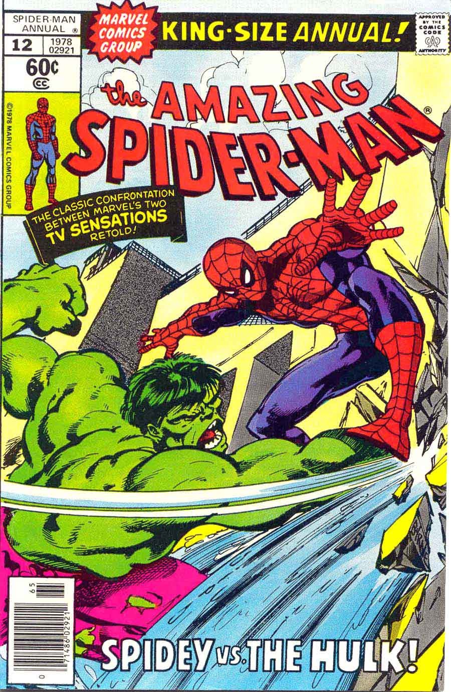 Amazing Spider-Man v1 annual #12 marvel comic book cover art by John Byrne
