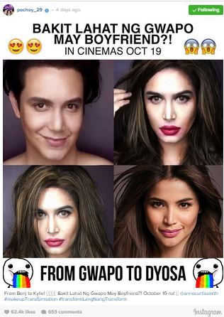 See Paolo Ballesteros Transform Into Anne Curtis! You Won't Believe Your Eyes!