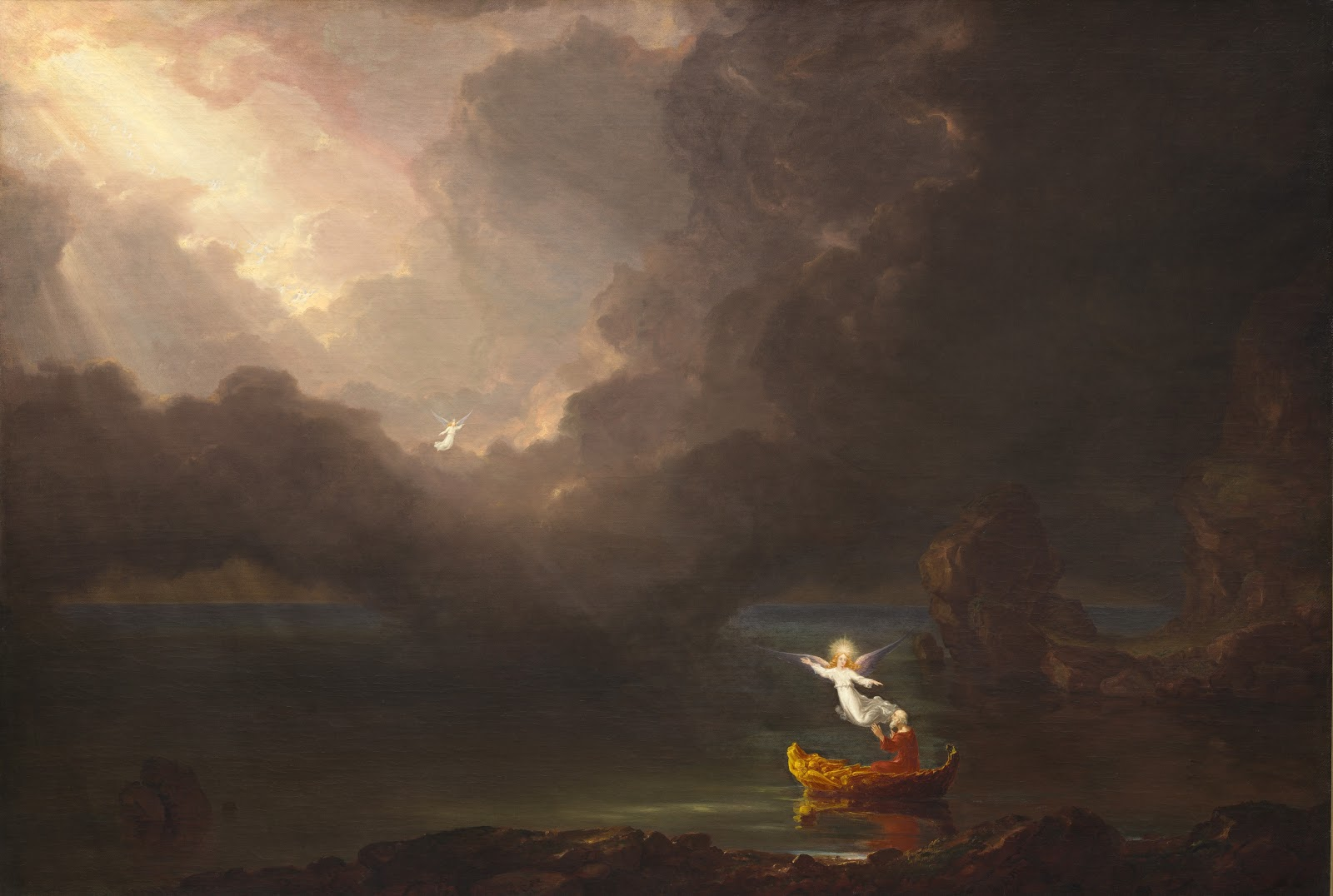 Thomas  Cole   The  Voyage  of  Life     Old  Age   National  Gallery  of  Art