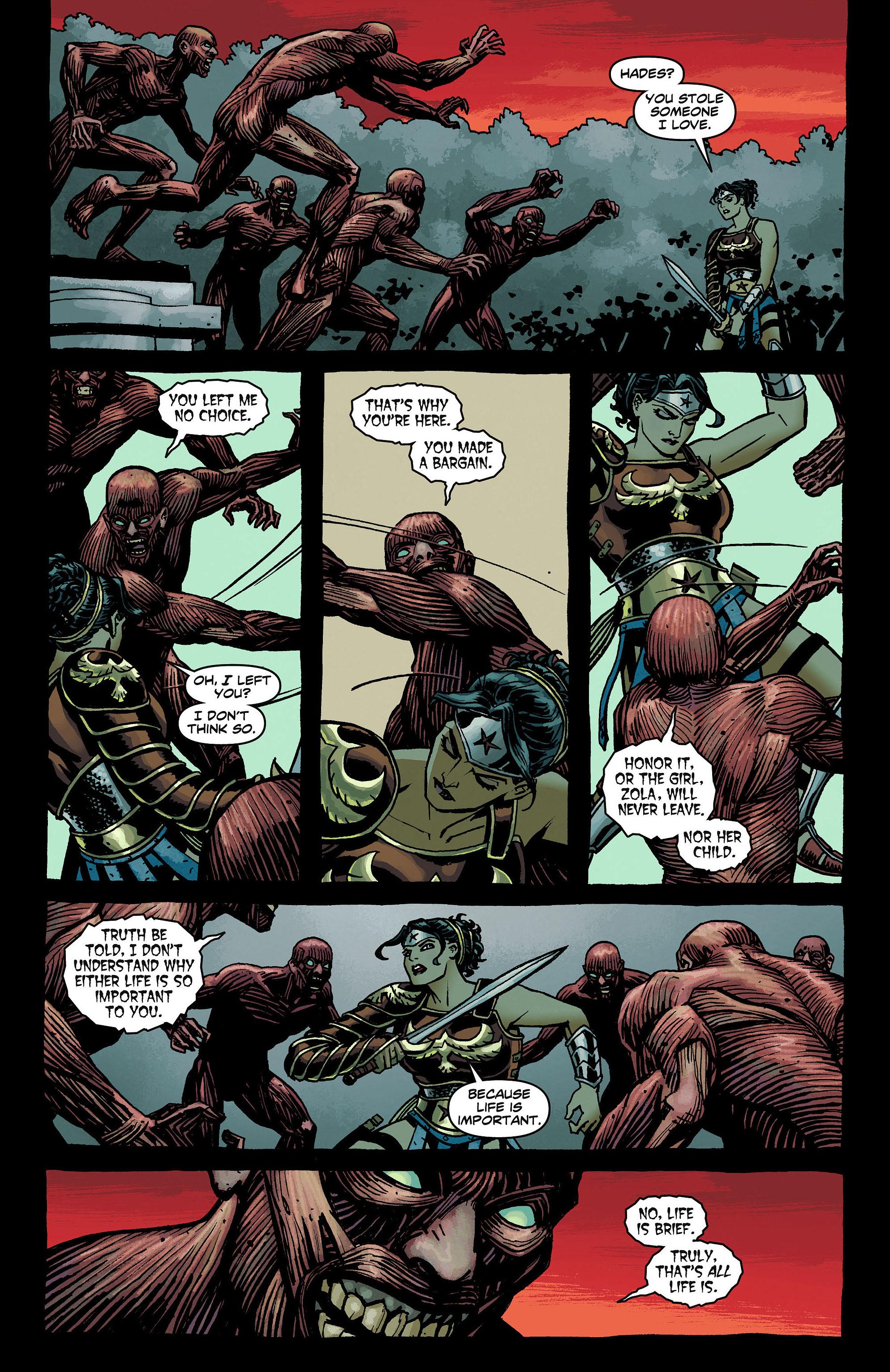 Read online Wonder Woman (2011) comic -  Issue #8 - 12