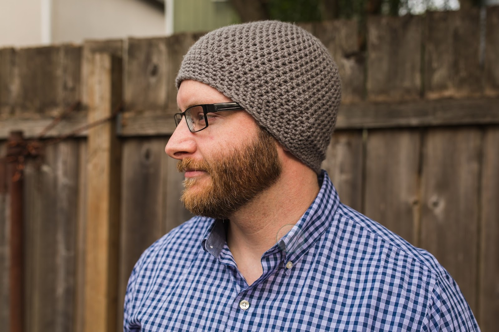 The Cole, Men's Classic Crochet Fitted Beanie, Men's Winter Hat, Men's Crochet Beanie, Men's Crochet Hat, Knit Hat, Christmas, Father's Day