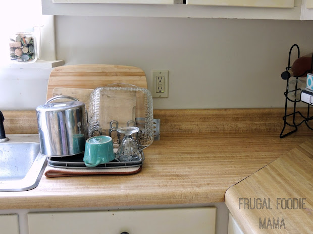 Frugal Foodie Mama Saving Counter Space & Money With