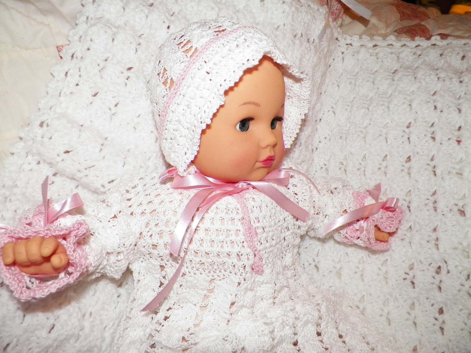 New crocheted BABY items!