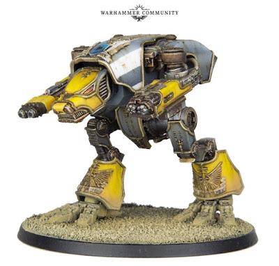 Warhound Adeptus Titanicus