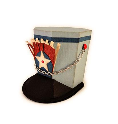 Drum Major 3d Hat Box Assembly