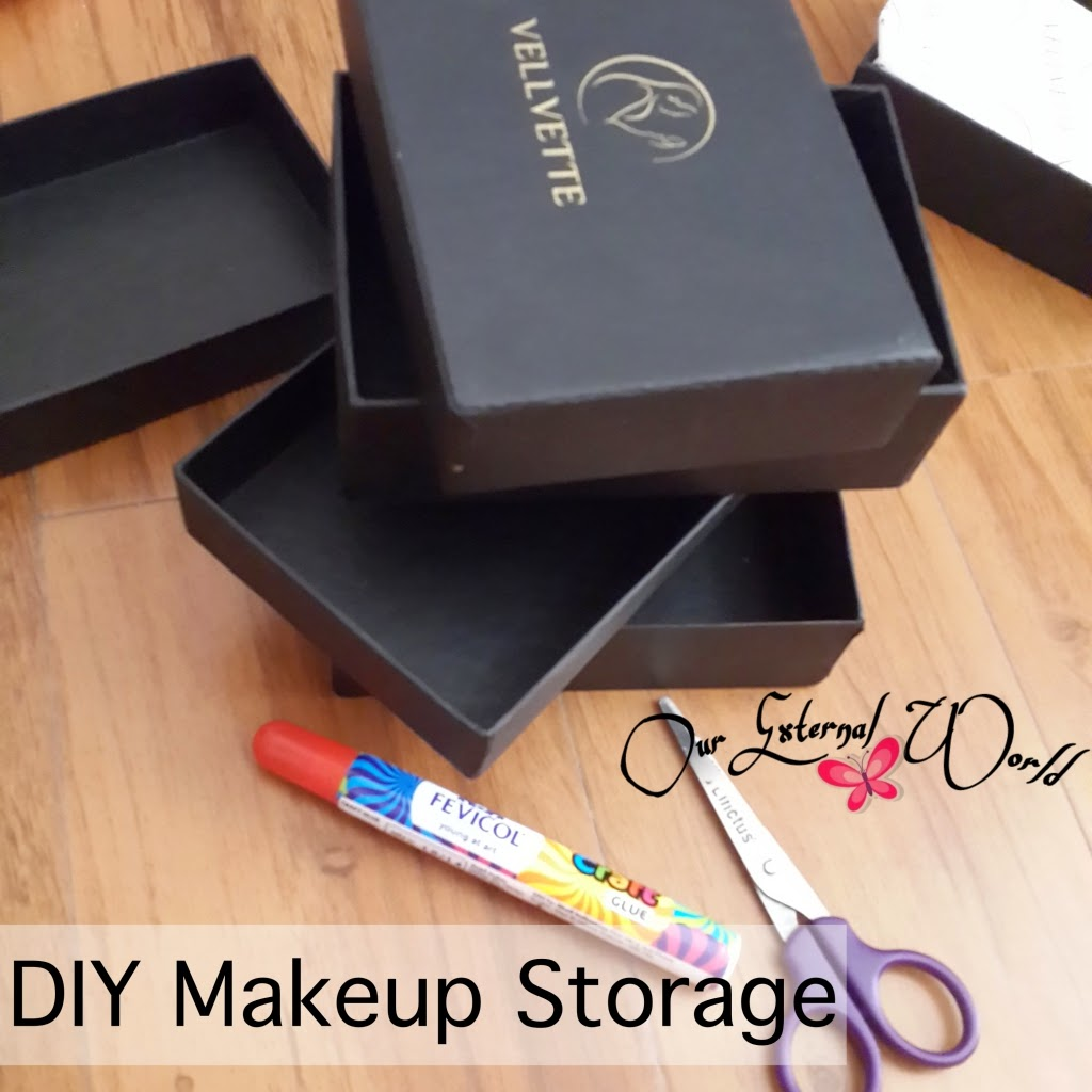 diy makeup storage box - photo #32
