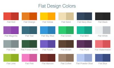 flat design trend