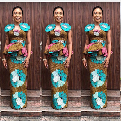 IMPRESSIVE  ANKARA LONG GOWN STYLES YOU SHOULD SEE
