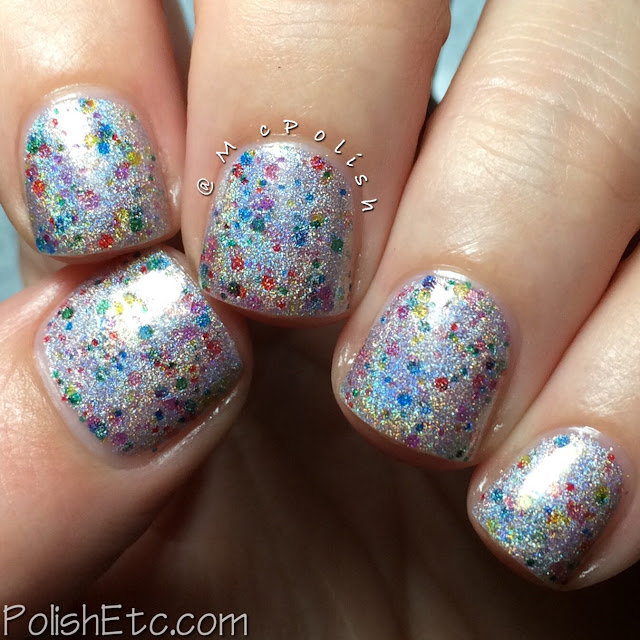 Nine Zero Lacquer - Holiday 2015 Collection - McPolish - Twinkling Lights
